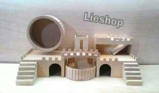 Rumah fullset hamster size L