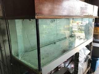 Aquarium 6ft complete set