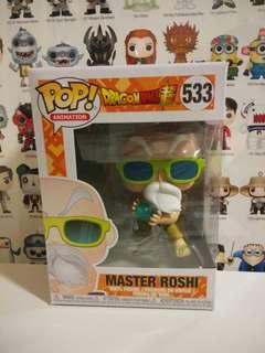 Funko Pop Master Roshi Max Power DragonBall Vinyl Figure Collectible Toy Gift Animation Comic