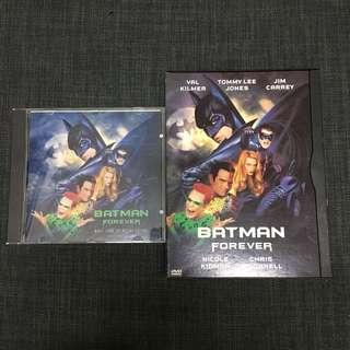 Batman forever DVD + soundtrack