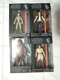 Hasbro Black Series Star Wars. Bundle of 4 boxes as shown in photo.