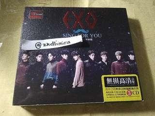 [WTS]EXO SING FOR YOU ALBUM (UNOFFICIAL)