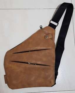 6cd147fa4101 Crossbody Man Bag Sling Bag Men Brown Color Messenger Bag