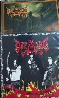 Die hard record vinyl 2 albums metal evil always returns conjure the legions