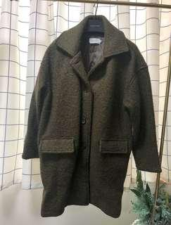 Olive green outerwear 厚身外套