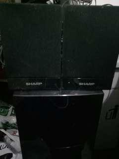 Speaker sharp
