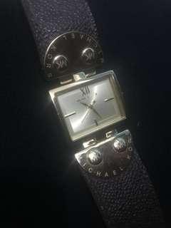 Original/Authentic Michael Kors Leather wrist watch MK2344