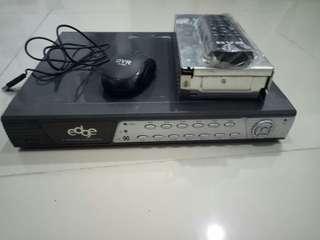 CCTV 6 kamera merk Edge