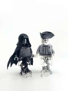 Lego 75955 Harry Potter Train dementor & 71042 Silent Mary Dead Man minifigures 人仔