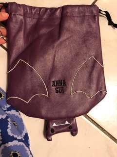🚚 Anna sui 束口袋 化妝包
