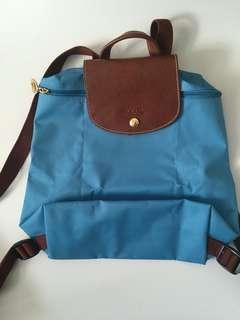 Longchamp Blue backpack