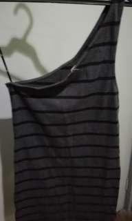Forever 21 Bodycon Asymmetrical dress