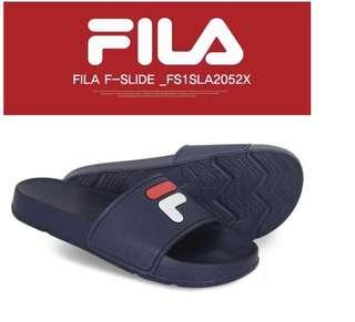 🚚 100% Authentic Fila Slides Sandal