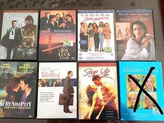 [Give Away] Movie DVDs- Rom Coms, Action, Dance, Chick Flicks