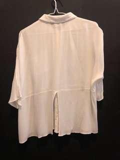 Asos white blouse