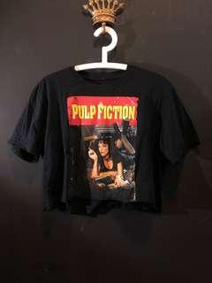 Pulp fiction graphic tee