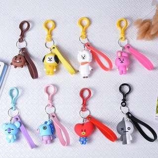 🚚 (PO) BT21 Keychains