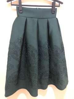NEW Emerald Green Skirt