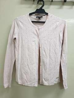 MNG Knitwear Cardigan - Soft baby pink