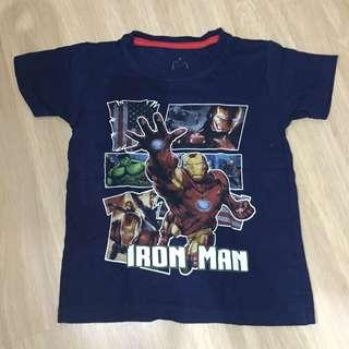 Iron man tshirt
