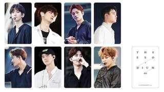 WTT The EXO'rdium dot Photobook & Live album Chanyeol Photocard