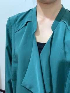🚚 質感綠造型外套
