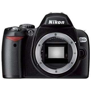 🚚 Nikon D40x 10.0mp