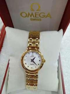 Omega swiss watch for ladies Japan made.