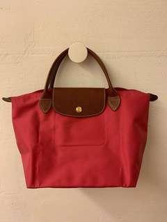 Longchamp 小款短帶摺疊包