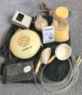 Medela swing electric pump and accessories