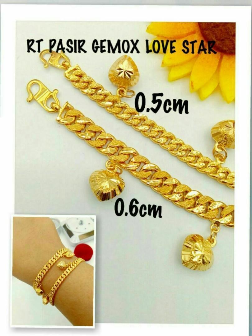 55a5cadd9 916 Gold Adult Bracelet, Women's Fashion, Jewellery, Bracelets on ...