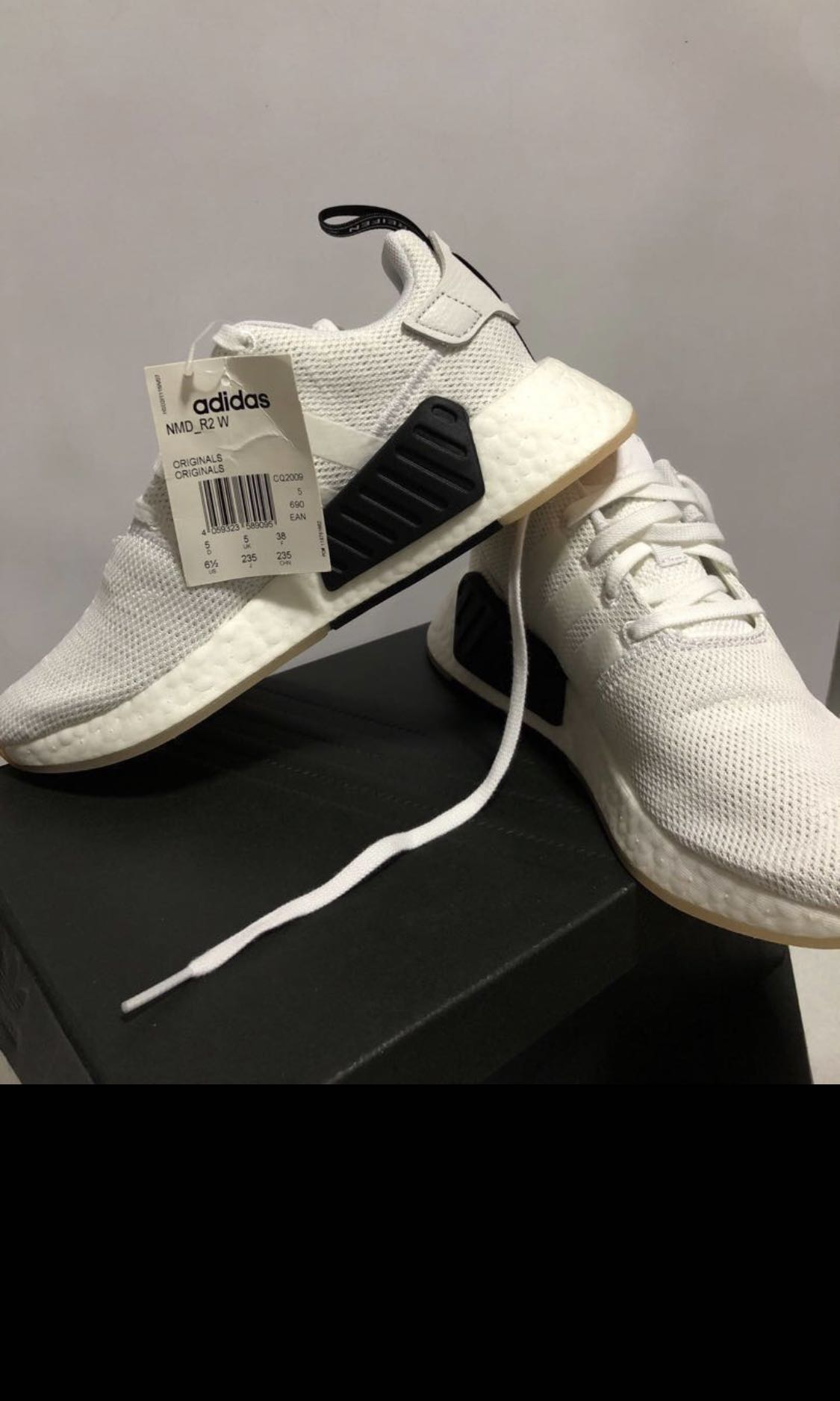 443c8bb41 Adidas NMD R2 white
