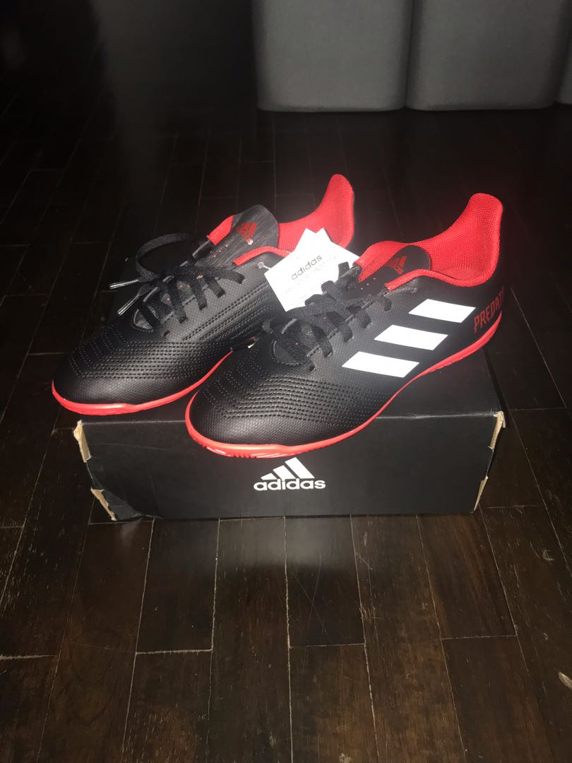bc6fdc63215c Adidas Predator Tango 18.4 Indoor Soccer Shoes