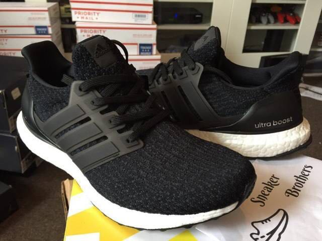 6a6a8cc7a Adidas ultra boost core black 3.0, Men's Fashion, Footwear, Sneakers ...