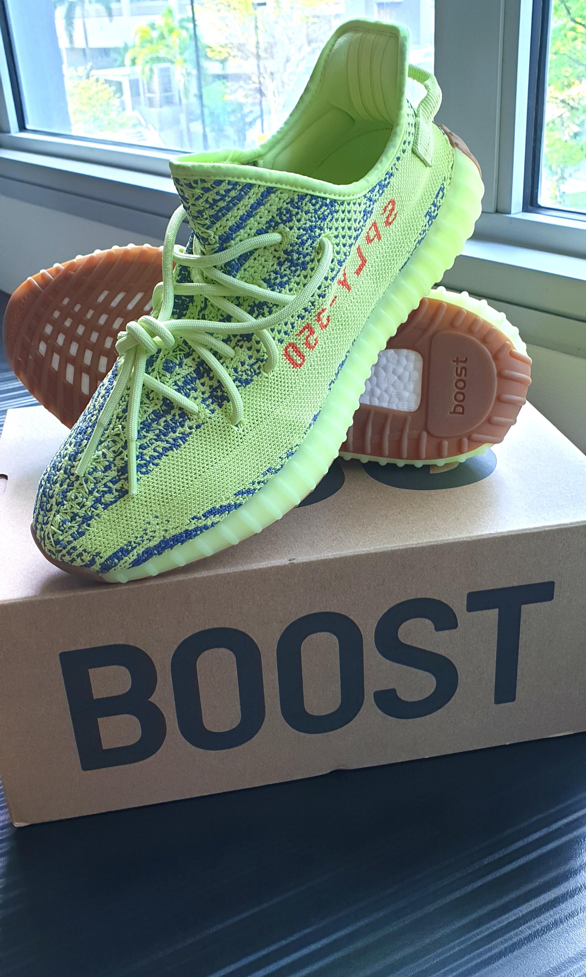 92e8fff0046 adidas Yeezy Boost 350 Frozen Yellow size US11