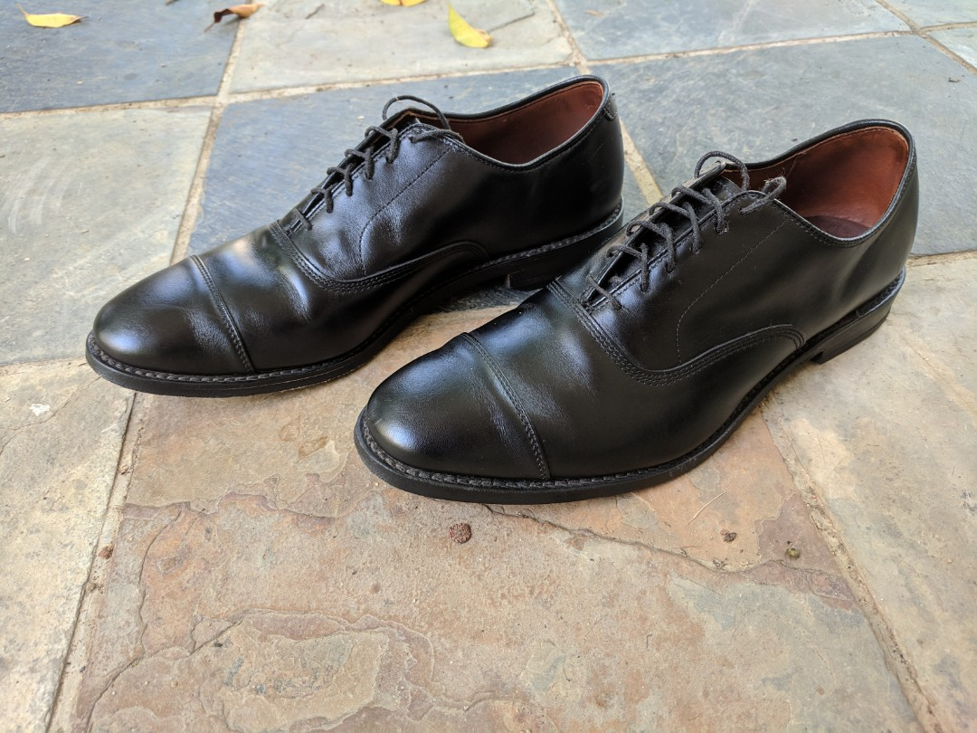 6458b3663 Allen Edmonds Park Avenue Oxford Shoe - size 10 US, Men's Fashion,  Footwear, Formal Shoes on Carousell