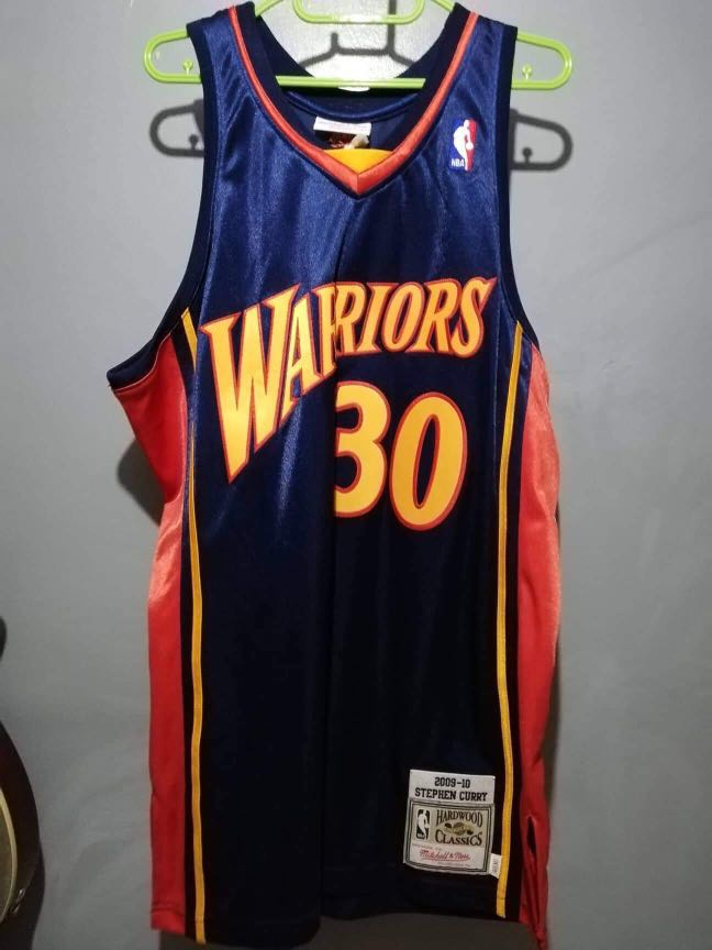 best service 27948 1455a Authentic Mitchell & Ness Stephen Curry Retro Jersey (2009 ...