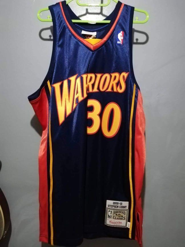 best service 6cf1e 66d8f Authentic Mitchell & Ness Stephen Curry Retro Jersey (2009 ...