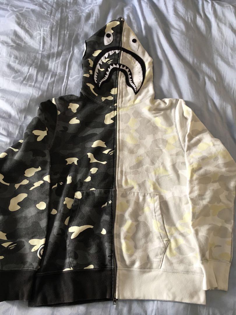 a762623b35 Bape Shark Hoodie city camo WTS (RARE), Men's Fashion, Clothes ...