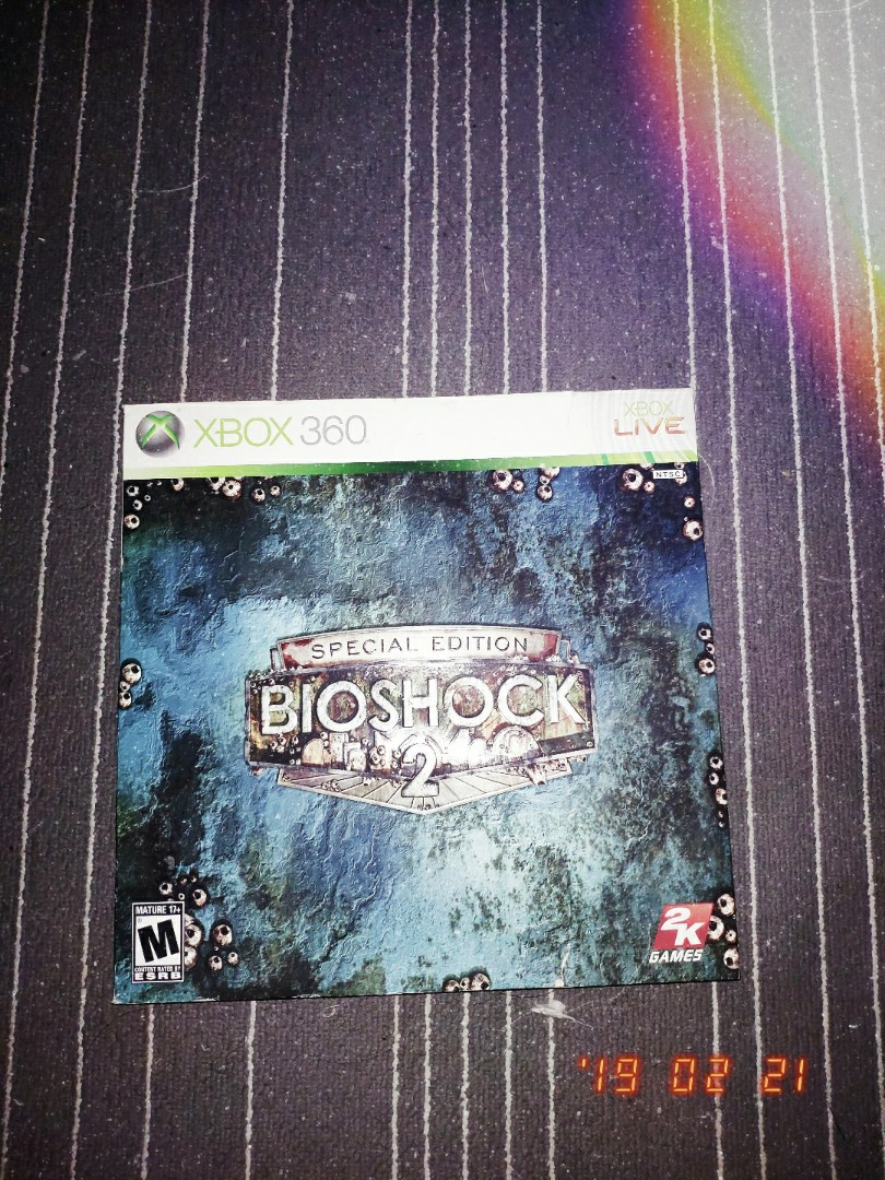 FAST DEAL Bioshock 2 Special Edition Xbox 360 + GAME