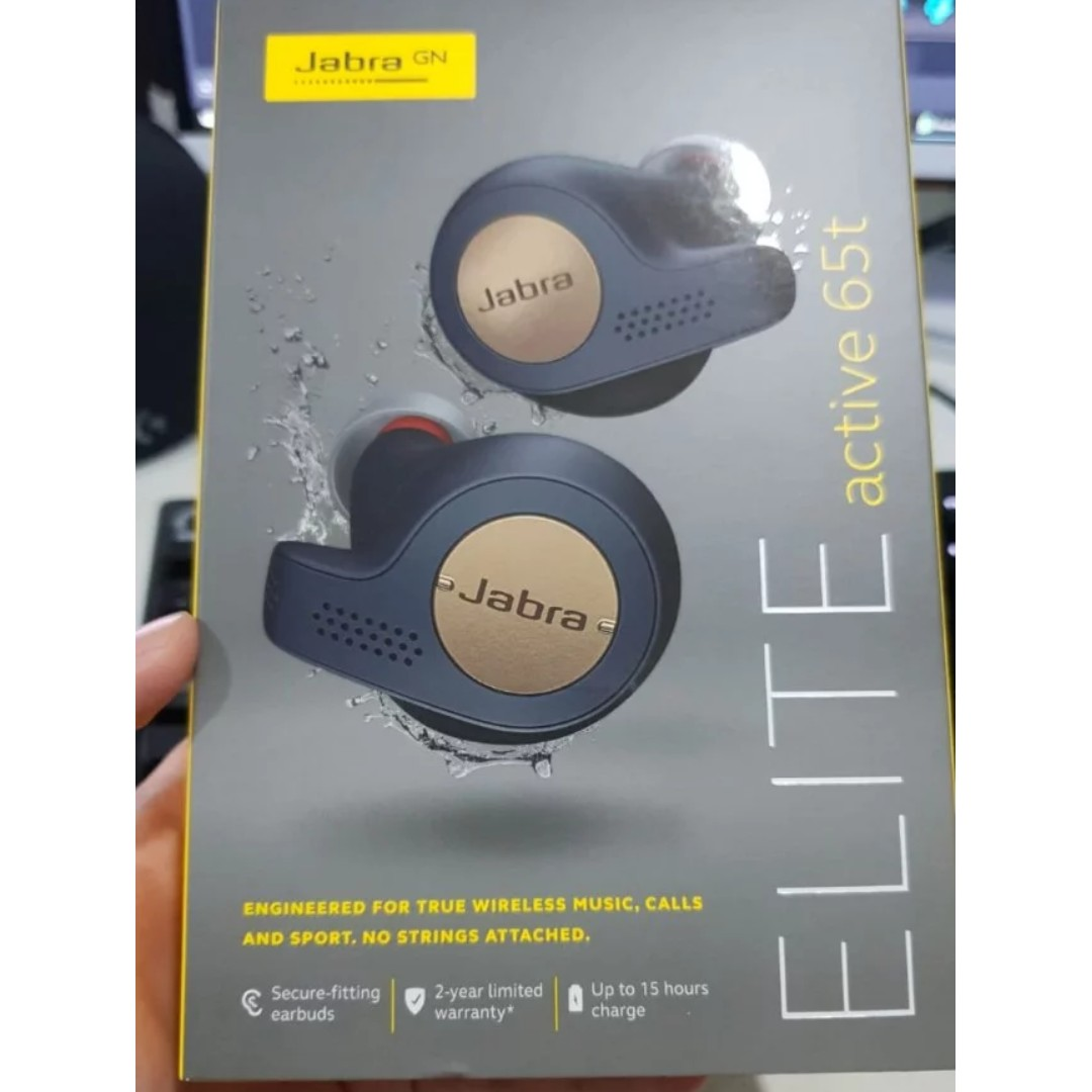 a5470fd42df BN Jabra Elite Active 65T Copper Blue, Electronics, Audio on Carousell