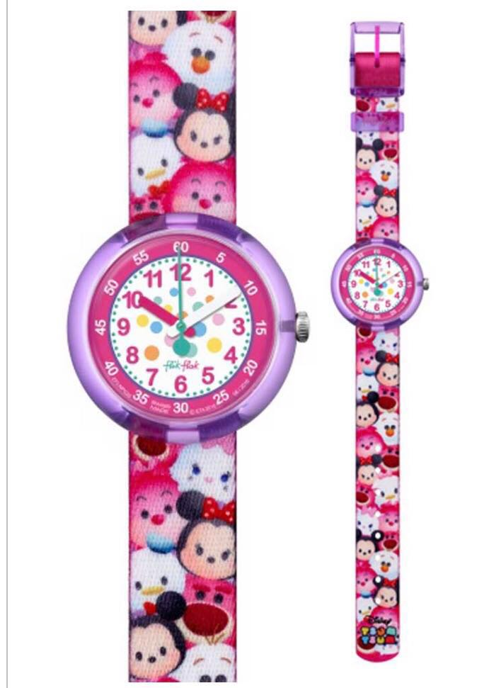 BNIB! Official Swatch Flik Flak Disney Tsum Tsum Watch 137a0e7c83a