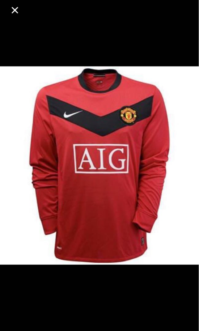 ca72835b9 BNWT Authentic Manchester United Home kit 2009-2010 size M and XL ...