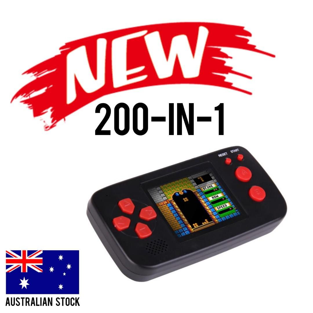 BRAND NEW 200-in-1 Handheld Game