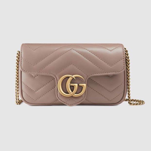 c2cee8df282 Gucci GG Marmont matelasse leather super mini bag