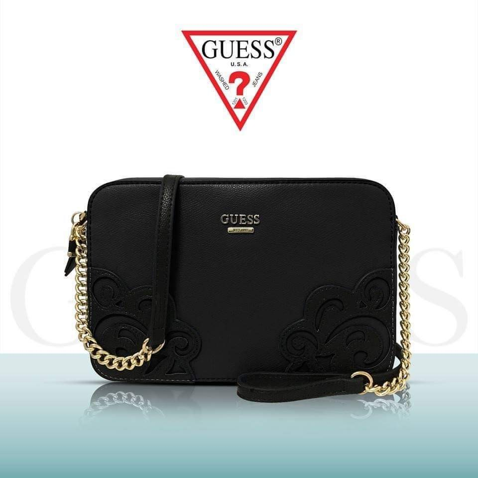c018ce513 GUESS sling bag *FREE SHIPPING*, Women's Fashion, Bags & Wallets on ...