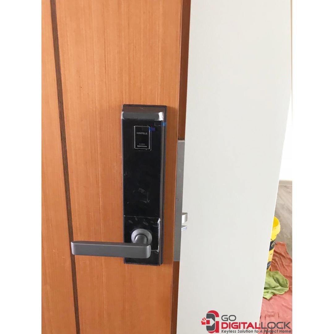 Hafele EL9000 Digital Door Lock 4 in 1 (Price Include