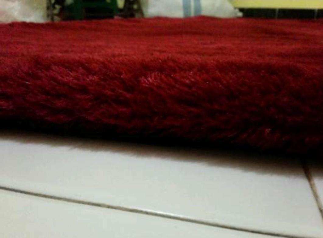 #SuperDeal karpet bulu tebal 5 cm