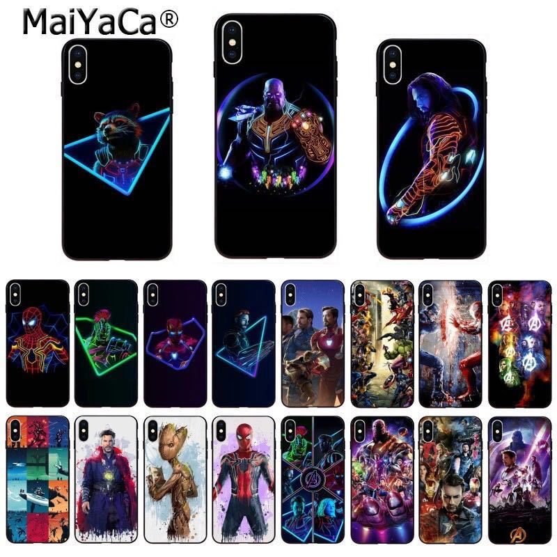 new style 89796 c758a Marvel Avengers DC Soft TPU Phone/Mobile Case/Cover
