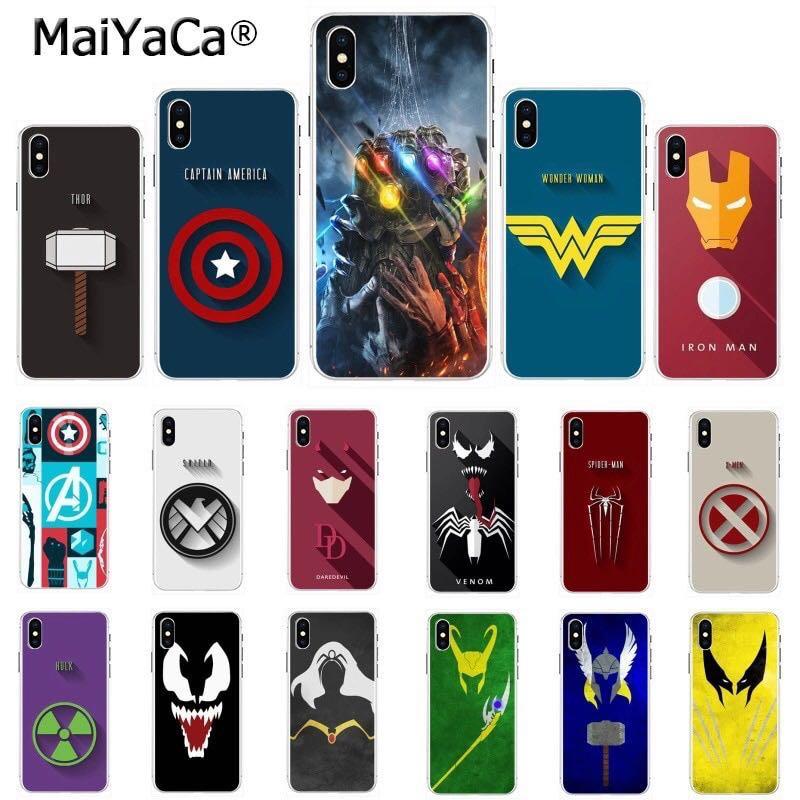 best service bddcf bce37 Marvel Avengers Superheroes Soft Phone/Mobile Case/Cover